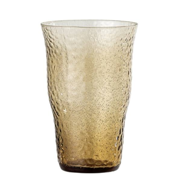 Üveg vizespohár halvány barna 6 db