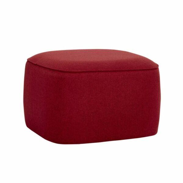 Vörös kocka puff