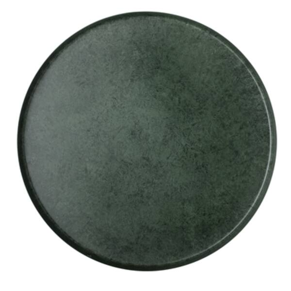Zöld egyedi fém tálca Ø40 cm